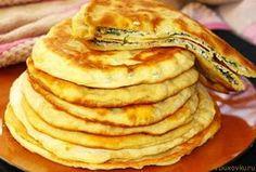 Армянские лепешки с сыром и зеленью / Вегетарианские рецепты