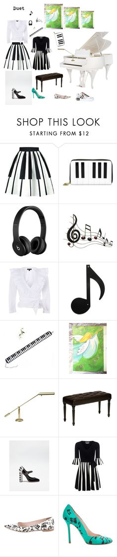 Theme dresses by nettie-949 on Polyvore featuring Boutique Moschino, Topshop, WithChic, Dolce&Gabbana, Miu Miu, Tatty Devine, Cortesi Home, House of Troy, Beats by Dr. Dre and Benzara