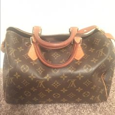 Louis Vuitton Speedy 30 Great bag!! Comes with dust bag. Date code in pics. Authentic. Leather in excellent condition. Only inquire if serious. Louis Vuitton Bags