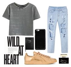 Wild at Heart by tilghmanwhite1 on Polyvore featuring polyvore, мода, style, adidas, Maison Margiela, Dolce&Gabbana, Sloane Stationery, fashion and clothing