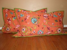 Willow Bean Studio ~ The Blog: How To Make King Sized Pillow Shams
