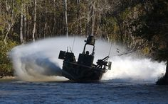 SWCC boats, where others run away, these nasty fuckers charge right into combat