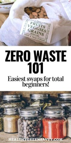 Heard of zero waste but are a little intimidated by the sound of the word 'zero'? Wasting less little by little is easier than you might think, and may well benefit your health and your bank account. Here's what you need to know to begin shrinking your wasteprint painlessly. #zerowaste #sustainability #wasteless #sustainableliving #plasticfree