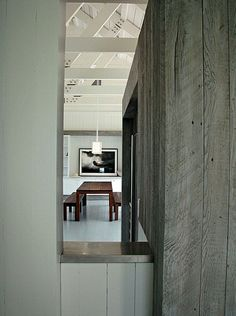 BOARD FORMED CONCRETE WALLS