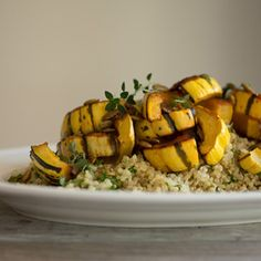 ... roasted squash with mint and toasted pumpkin seeds epicurious com