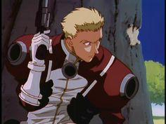 Millions Knives - Trigun 👍 Vash, Old Anime, Bounty Hunter, Cyberpunk, Otaku, Alice, Fan Art, Manga, Comics