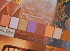 Acquired Taste from the PANTONE® View: home + interiors 2017 forecast. Pantone 2017 Colour, Design Trends, Colour Trends, 2017 Design, Colour Combinations, Acquired Taste, Native American Pottery, Colour Pallette, Closet Designs