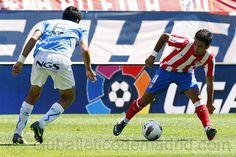 Arda se estrenó con la rojiblanca frente al Osasuna en el Calderón (28/08/11). El Atlético mereció más, pero tuvo que conformarse con el 0-0.