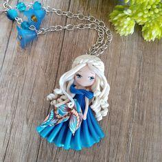 """Mi piace"": 419, commenti: 7 - Petite Maria Tortorici (@lapetitedeco) su Instagram: ""I love her hair #polyerclaykawaii #polymerclayartist #kawaii #doll #doll #polymerclay #blue…"""