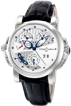 Ulysse Nardin~ Love this!!!! 1 of my dream watches.