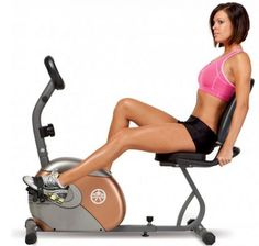 Recumbent Bike Workout for Beginners for Weight Loss - EI Exercise Bike For Sale, Best Exercise Bike, Diet Exercise, Best Home Workout Equipment, Body Workout At Home, Exercise Equipment, Fun Workouts, At Home Workouts, 20 Minute Hiit Workout