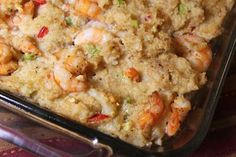 Shrimp and Grits Dressing: My New Thanksgiving Tradition  ~  I am SO making this for Thanksgiving this year!