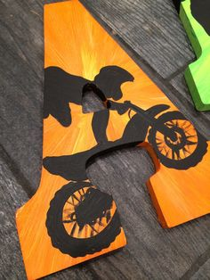ORIGINAL Extreme Sports Large Wooden Letters by MelanieLupien
