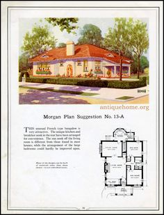 https://flic.kr/p/HPPdji | Morgan House Plan Suggestions::Building with Assurance | Building with Assurance - 1923 www.antiquehome.org