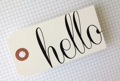 TUTORIAL | HOW TO PRINT ON TAGS, JOURNALING CARDS AND OTHER NON-TRADITIONAL PAPER