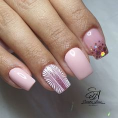 Beauty Nails, Hair Beauty, Gel Nails, Manicure, Acrylic Gel, Short Nails, Swag Nails, How To Do Nails, Lily