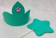 PARTY PACK Mermaid Tiara/Crown & Wand by TeatotsPartyPlanning