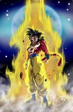 Broly Ssj4, Gogeta And Vegito, Dragon Ball Gt, Dbz, Super Saiyan 4 Goku, Goku Wallpaper, Ball Drawing, Black Art Pictures, Son Goku