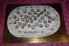 Sushi cake sushi food birthday cake