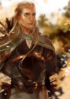 Леголас Legolas by Athena-chan on DeviantArt