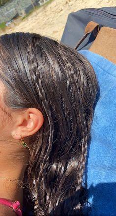 Aesthetic Hair, Summer Aesthetic, Aesthetic Body, Aesthetic Vintage, Summer Hairstyles, Pretty Hairstyles, Pelo Indie, Hair Inspo, Hair Inspiration