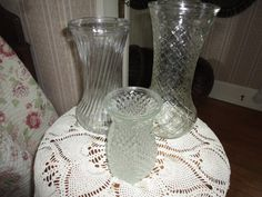 Set Of Three Vintage Hoosier Ware Depression by TammysFindings, $40.00