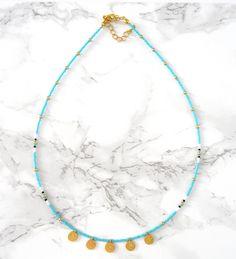 Dit item is niet beschikbaar Diy Jewelry Necklace, Diy Earrings, Cute Jewelry, Modern Jewelry, Jewelry Crafts, Beaded Jewelry, Jewelery, Handmade Jewelry, Beaded Necklace