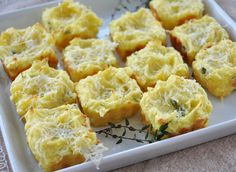 Mashed Potato Puffs...just of one of these fabulous Turkey Day finger food recipes. Great for kids and the perfect way to use those Thanksgiving leftovers.