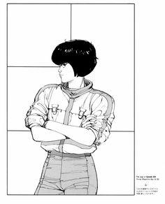 Katsuhiro Otomo ~ Splash page from Akira Boichi Manga, Manga Artist, Manga Comics, Comic Artist, Comics Illustration, Illustrations, Akira Anime, Katsuhiro Otomo, Art Vintage