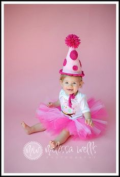 Crocheted Birthday Hat
