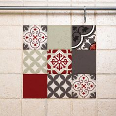Mix Tile Wall Decals 301 decorative tiles vinyl stickers tiles free shipping by videcor on Etsy