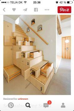 En super fin trappe, der er nem at lave og ikke kræver de helt store beregninger. Den skal jeg lave i mit nye hjem.