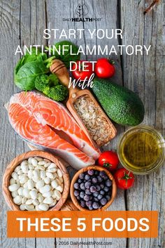 Here are some foods that are essential to an anti-inflammatory diet. If you're serious about reducing inflammation you'll want to start with these!