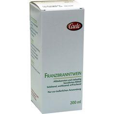 FRANZBRANNTWEIN Caelo HV-Packung:   Packungsinhalt: 200 ml Lösung PZN: 02096487 Hersteller: Caesar & Loretz GmbH Preis: 4,53 EUR inkl. 19…