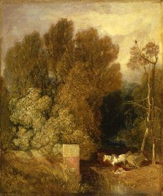 ca. 1824-28 The Mishap   oil on panel