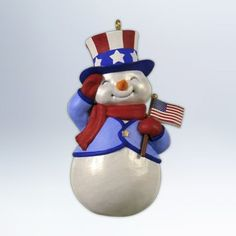 Are you looking for Hallmark Snowman Ornaments? You'll love these super cute snowman Christmas tree ornaments and you'll find plenty of ideas on this page. Christmas Tale, Snowman Christmas Ornaments, Baby First Christmas Ornament, Hallmark Christmas, Blue Christmas, Christmas Crafts, Christmas Ideas, Christmas Stuff, Vintage Christmas