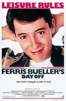 Ferris Bueller's Day Off (1986). D: John Hughes. Selected in 2014.