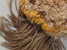 Floreciendo - Escultura textil 2013 Majo Perrosa