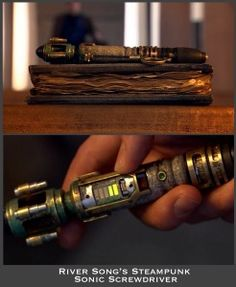 River Song's Steampunk Sonic Screwdriver