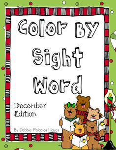 FREEBIE! Color by Sight words