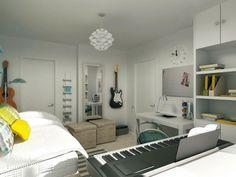 bedroom+office
