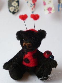 Henry - Miniature artist bear £50.00 - #craftfest