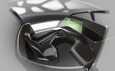 Thales Immersive Business-Class Seat – by BMW DesignWorks - | Travel + Leisure