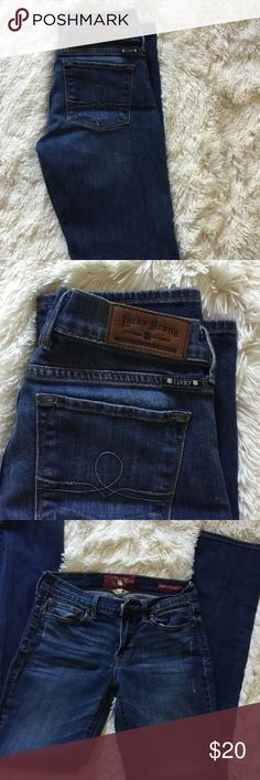 Lucky brand jeans Sofia straight fit good used condition Lucky Brand Jeans Straight Leg