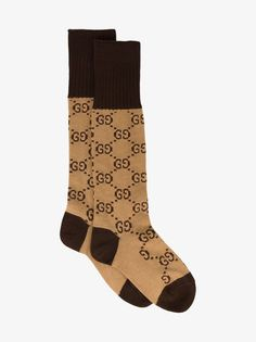 Gucci Logo Intarsia Socks