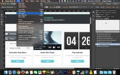 Adobe Muse CC 2014 Tutorial | Animated Rollover Transitions