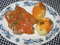 Langues de porc sauce piquante light, Recette Ptitchef