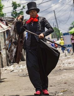 """""""Les Sapeuses,"""" or """"Lady Dandies"""" of the Republic of Congo, wearing menswear to make a statement on sexual violence"""