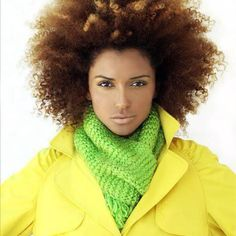 One day my hair will look fab like this.