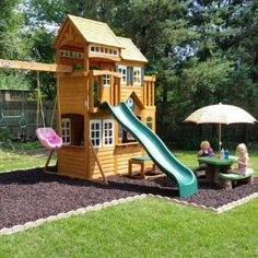 Landscaping for the Playset